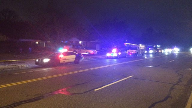 Authorities Investigate Shooting In Midwest City