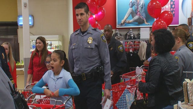 OKC Police Host Annual 'Shop With A Cop' Event