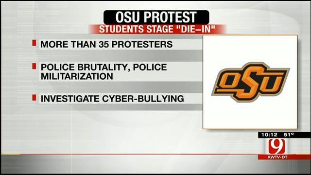 OSU Students Stage 'Die-In' On Campus