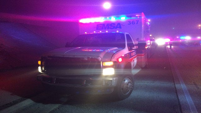 EMSA Unit Involved In Double Hit-And-Run In NW OKC