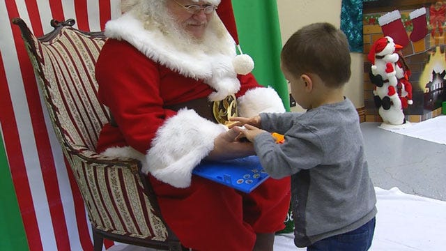 OKC Santa Claus Caters To Children With Special Needs