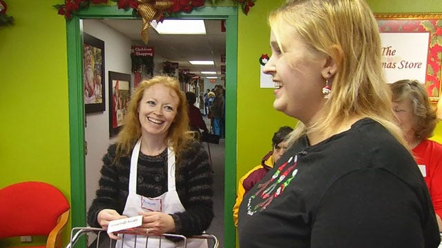 Cleveland County Christmas Store Helps Low-Income Families