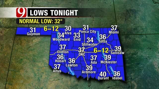 Clouds Return To Oklahoma Skies This Week