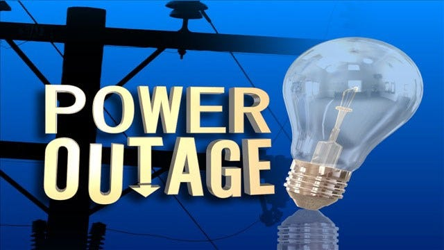 Large Power Outage Excludes Mall In Quail Springs Area