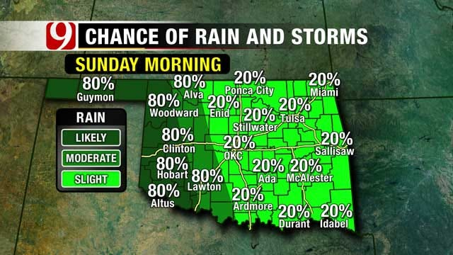 More Drizzly, Dreary Weather On The Way To Oklahoma