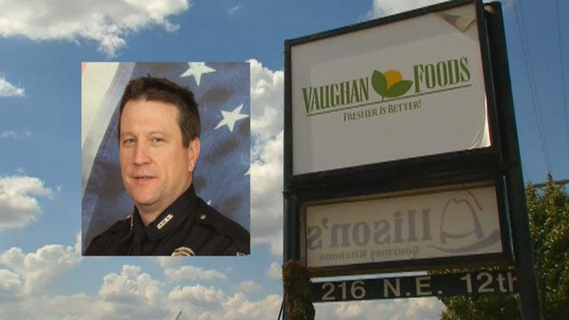 OK Co. Sheriff Honors Mark Vaughan With Medal Of Valor