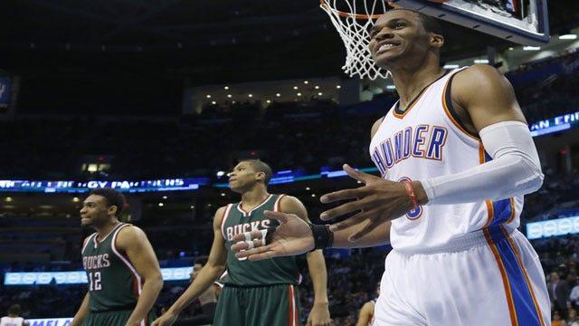 Thunder Rumbles Past Bucks, Creeps Closer To No. 8 Spot