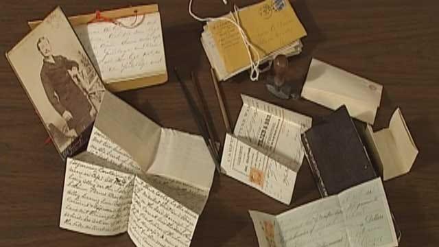 Edmond Woman Discovers Civil War Documents