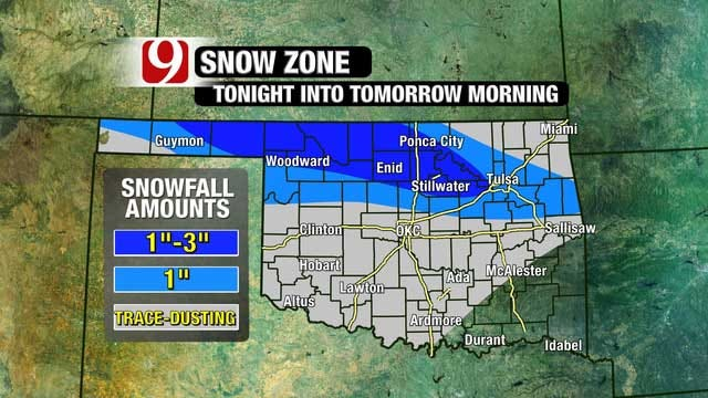 One More Round Of Snow Before Warmer Temps Later This Week