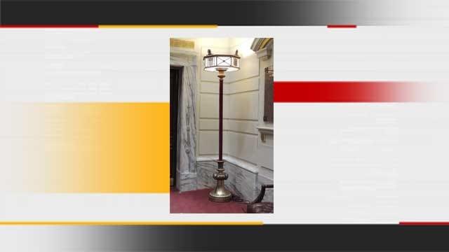 Historic Lamp Returns To Senate Chamber