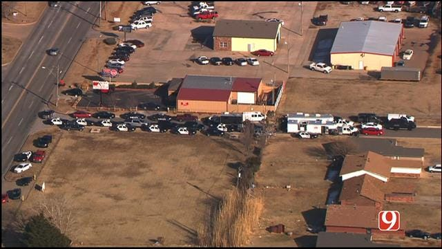 Armed Standoff In Northwest OKC Ends Peacefully