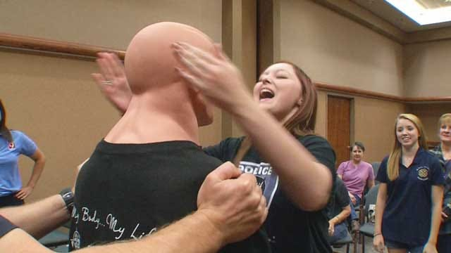 Oklahoma Women Learn To Fight Back