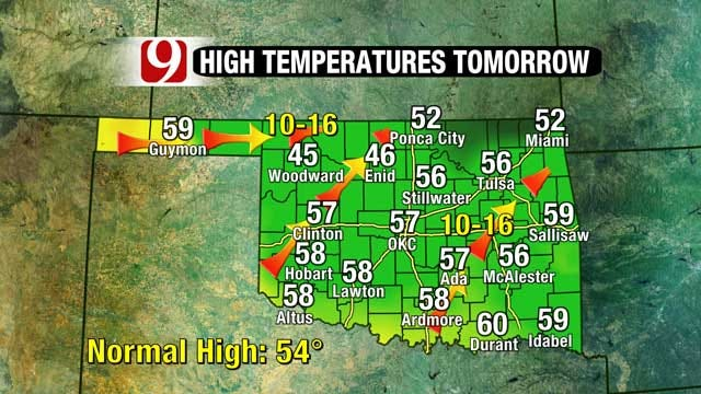 Winter Thaw Continues, Warmer Weather On The Way In Oklahoma