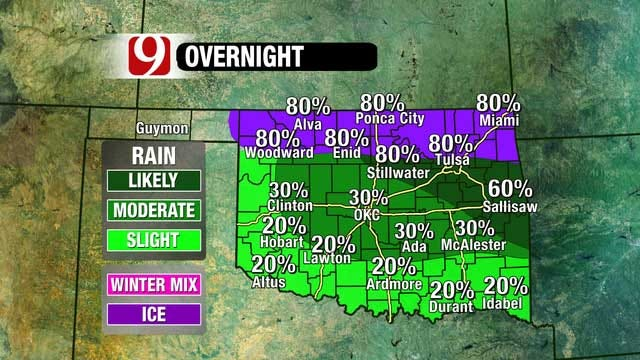 Cold Front Moves Into Oklahoma But Nice Weekend Ahead