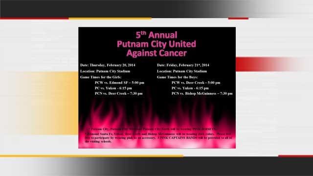 Putnam City Tourney 'Kicks' Cancer To The Curb