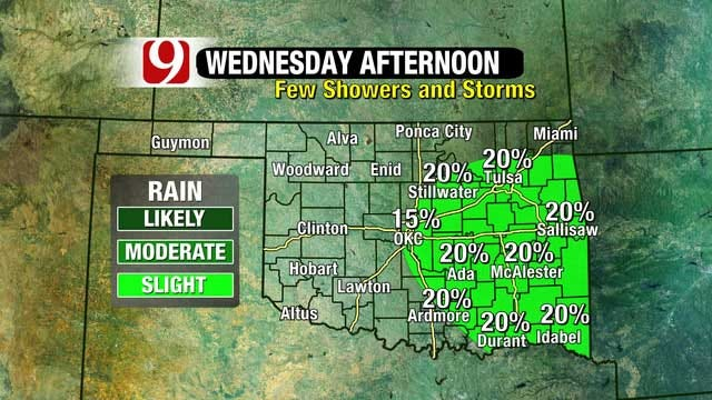 Thunderstorms Possible Wednesday, High Wildfire Threat Thursday