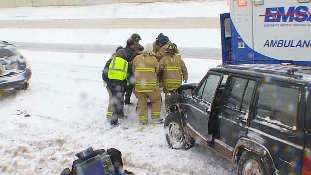 OK EMSA Responders Get First Major Test In Winter Blast