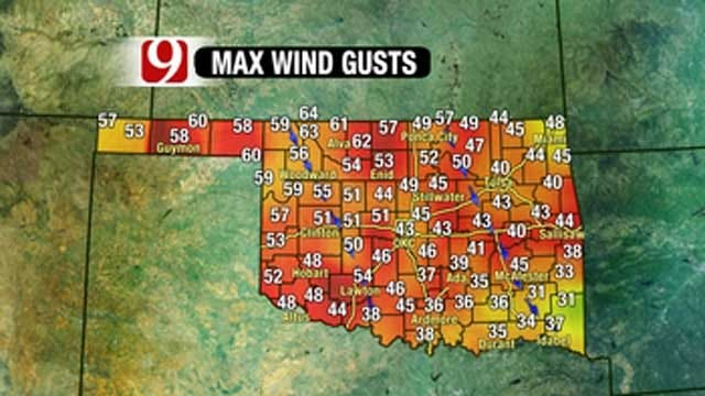 Extreme Fire Threat Continues In OK Due To High Winds