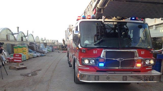 Crews Douse Fire At Garden Center In NW OKC