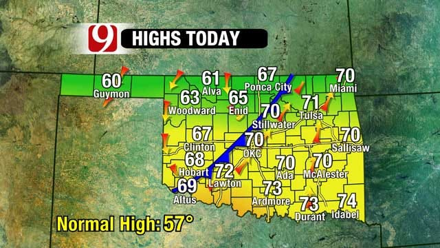Another Decent Weather Day Today, Rain Chance Early Next Week