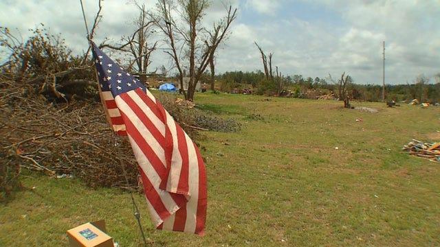 Residents Learn About Tornado Preparedness In Little Axe