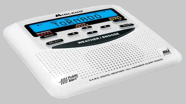 News 9 Wants You To Be Prepared For Severe Weather With A Weather Radio