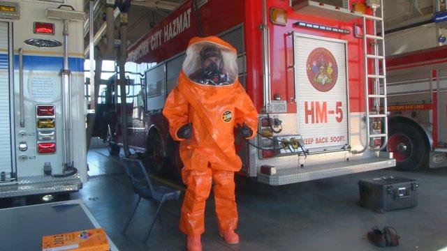 OKC Hazmat Crews Busy With Hazardous Spills