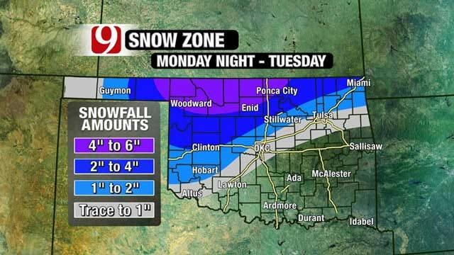 Another Winter Storm Heading Towards Oklahoma