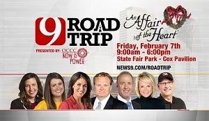 News 9 Road Trip Returns to An Affair of the Heart