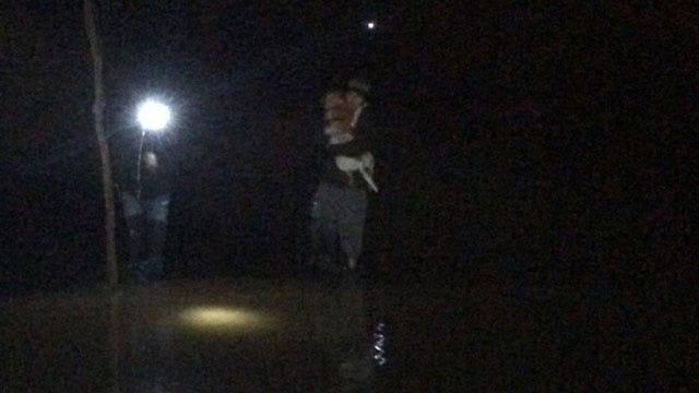Oklahoma Campers Rescue Dog Lost Near Washita River