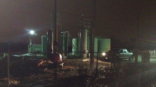 Oil Spill Shuts Down Portland Ave. In SW OKC