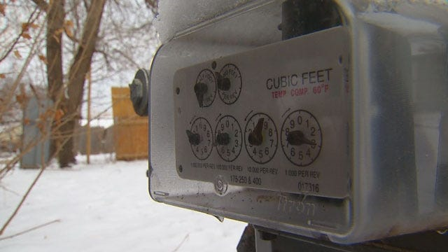 Bone-Chilling Temperatures Mean High Electricity Bills For Oklahoma Residents