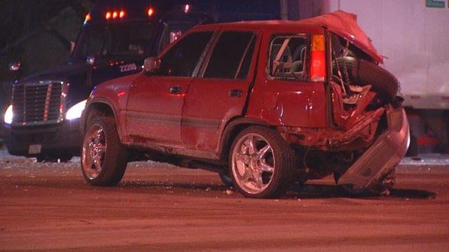 Driver Arrested After DUI Crash In NW OKC, Survivor Speaks Out