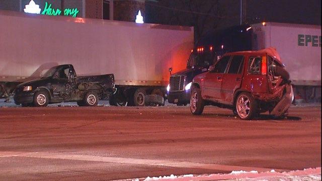 Suspected Drunk Driver Arrested In Northwest OKC Crash