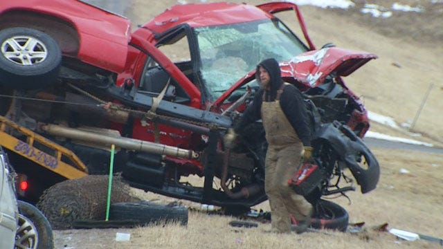 7 Injured, 3 Critical After Four-Car Crash In Norman
