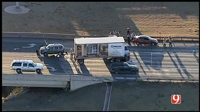 Lanes Blocked After Multi-Vehicle Accident On EB I-44