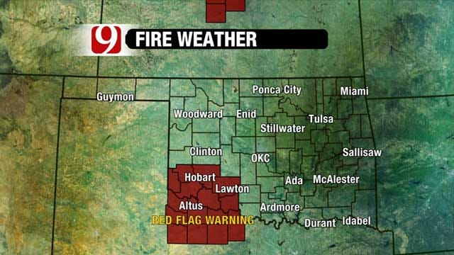 Warming Pattern Creates Wildfire Danger Across Oklahoma
