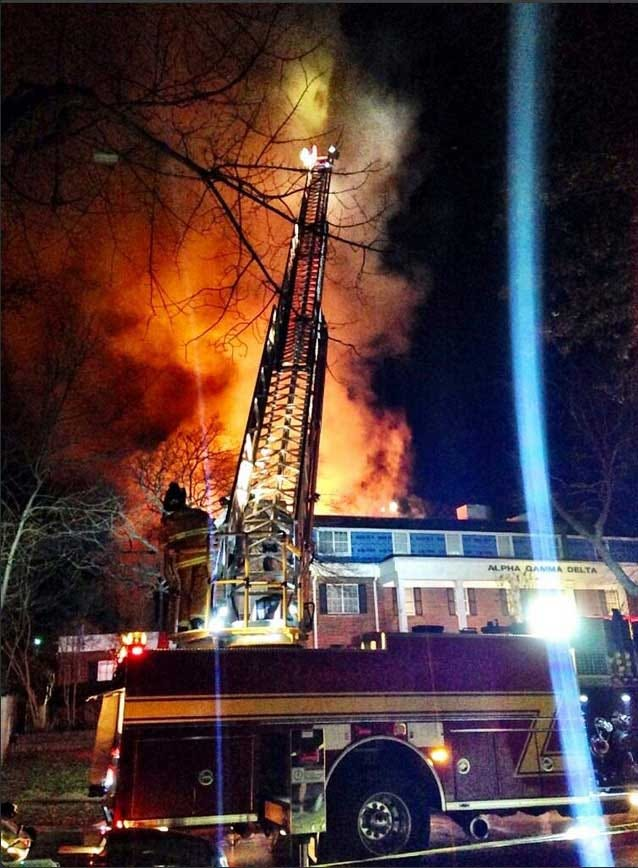 Firefighters Knock Down Fire At Sorority House In Norman