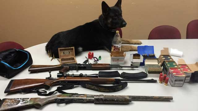 Ponca City Student Arrested After Police Find Guns, Drug Paraphernalia