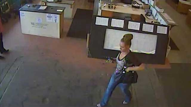 OKC Police Seek Woman For Questioning In White Collar Crime