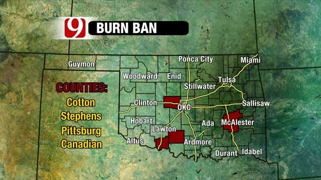 Fire Danger At Extreme Levels Again On Sunday In Oklahoma