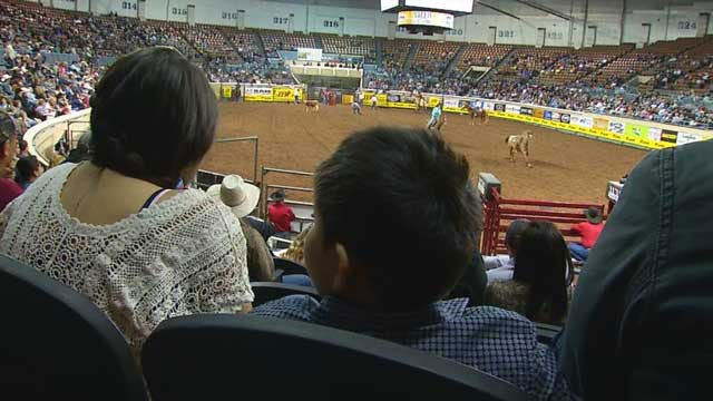 Youngest Int'l Finals Rodeo Announcer Makes Debut In OKC