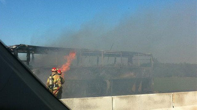 Insurance Company Denies Personal Claims In Norman Band Bus Fire