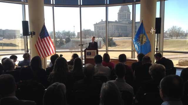 US Rep. Lankford Announces Run For US Senate Seat