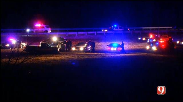 Standoff Near Shawnee Ends Peacefully, Suspect In Custody