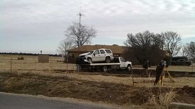 Police: 3 Dead, Including 2 Lawmen, In Oklahoma Chase