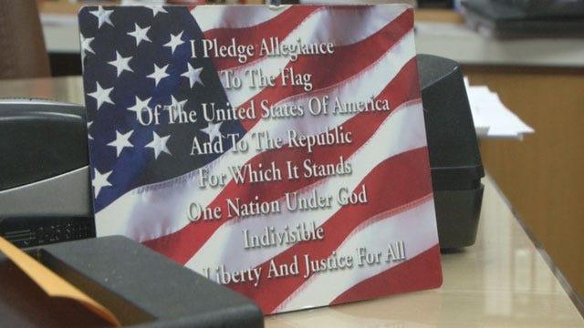 Proposed Oklahoma Law Requires 'Pledge Of Allegiance' At Schools