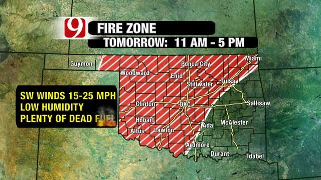 Extremely Dry Conditions Continue In Oklahoma