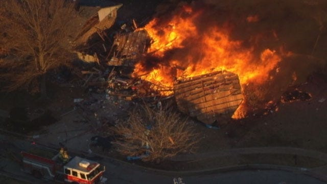 Neighbors In SW OKC Recall Gas Explosion One Year Later