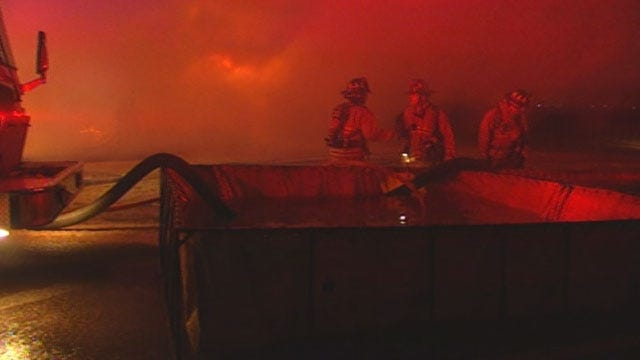 Fire Destroys Piedmont Home, No Water Source Nearby